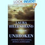 Book Title:  Unbroken by Laura Hillenbrand