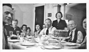 Family dinner 1945