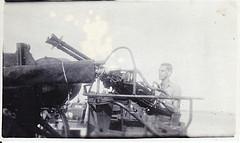 PT crewman on the twin 50 machine gun
