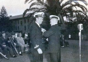 Belton Copp receives medal