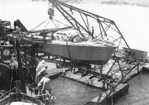 PT 41 off-loaded in New Caledonia