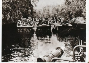 Nest of PT boats in New Guinea