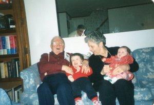 Red, Rita, & grandkids