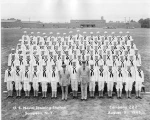 USN Basic Training '43