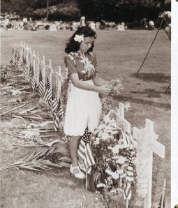 tending military graves in Hawaii