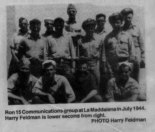 Ron 15 Communications Team, 1944