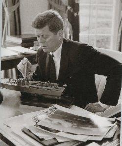 Pres JFK & PT model