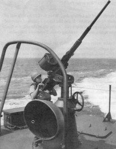 20 mm Oerlikon deck gun