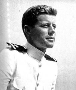 JFK new Navy Ensign 1942